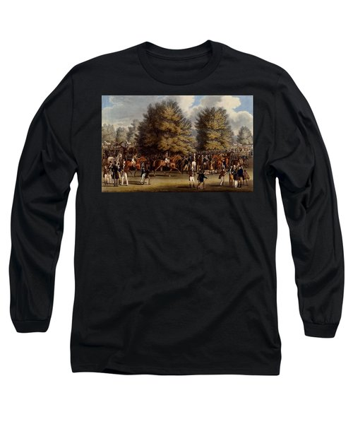 Saddling In The Warren, Print Made Long Sleeve T-Shirt
