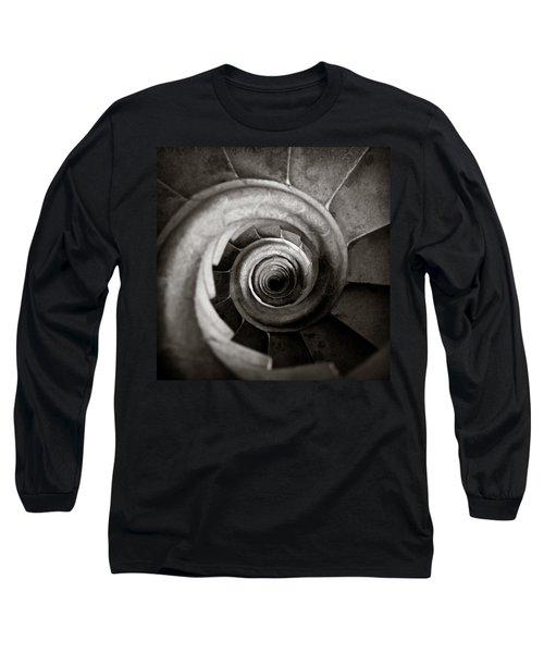 Sagrada Familia Steps Long Sleeve T-Shirt