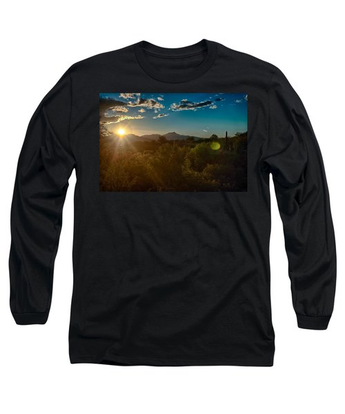 Long Sleeve T-Shirt featuring the photograph Saguaro National Park by Dan McManus