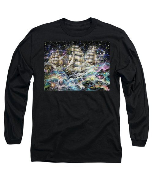 Sailing Among The Stars Long Sleeve T-Shirt