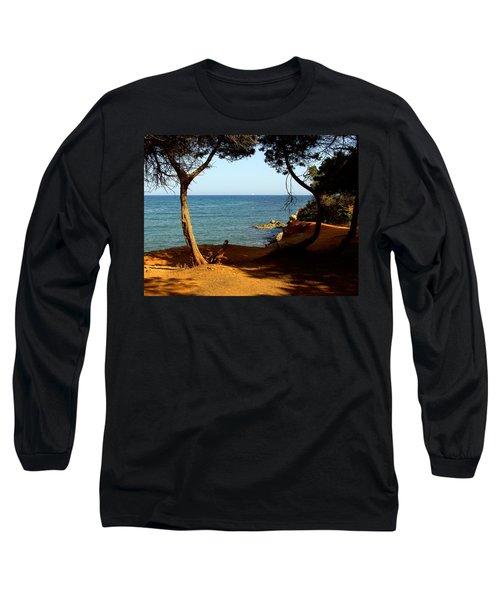Sailing In Solitude Long Sleeve T-Shirt