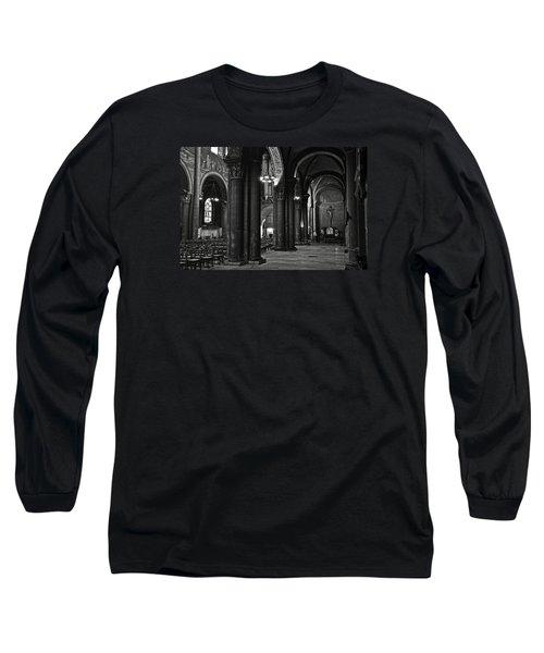Saint Germain Des Pres - Paris Long Sleeve T-Shirt by RicardMN Photography
