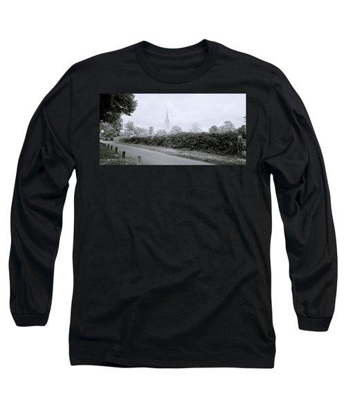 Salisbury Cathedral Long Sleeve T-Shirt by Shaun Higson