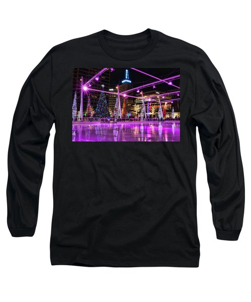 Long Sleeve T-Shirt featuring the photograph Salt Lake City - Skating Rink - 2 by Ely Arsha