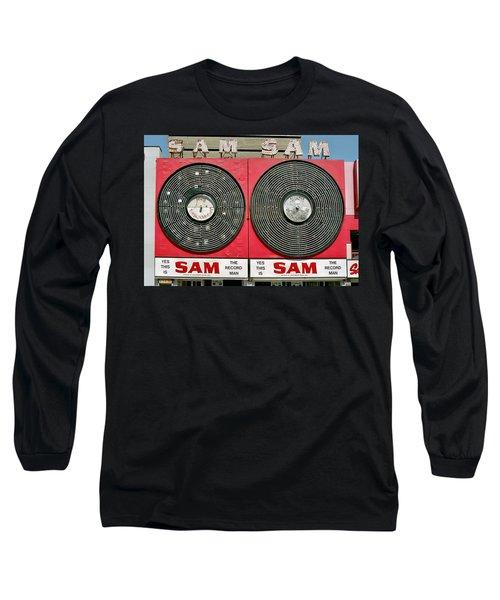 Sam The Record Man Long Sleeve T-Shirt