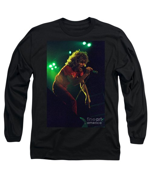 Sammy Hagar New Years Eve At The Cow Palace 12-31-78 Long Sleeve T-Shirt