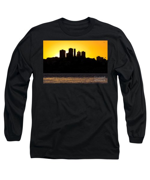 San Francisco Silhouette Long Sleeve T-Shirt by Kate Brown