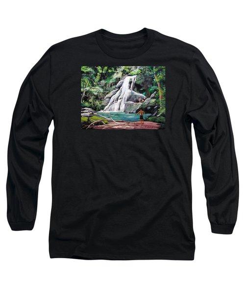San Sebastian Waterfall Long Sleeve T-Shirt