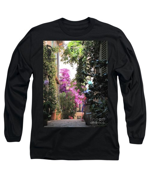 Long Sleeve T-Shirt featuring the photograph St Tropez by HEVi FineArt