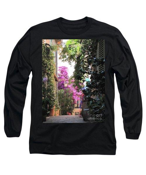 St Tropez Long Sleeve T-Shirt by HEVi FineArt