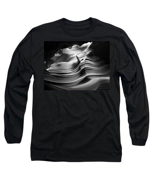 Sandstone Wave Long Sleeve T-Shirt