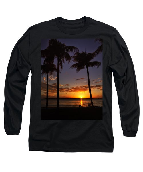 Sanibel Island Sunset Long Sleeve T-Shirt