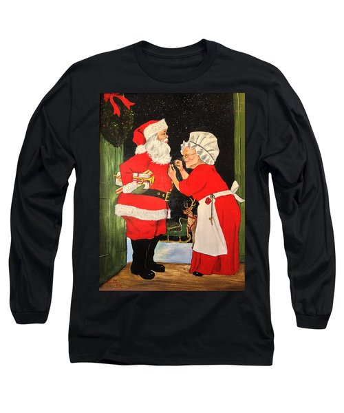 Santa And Mrs Long Sleeve T-Shirt