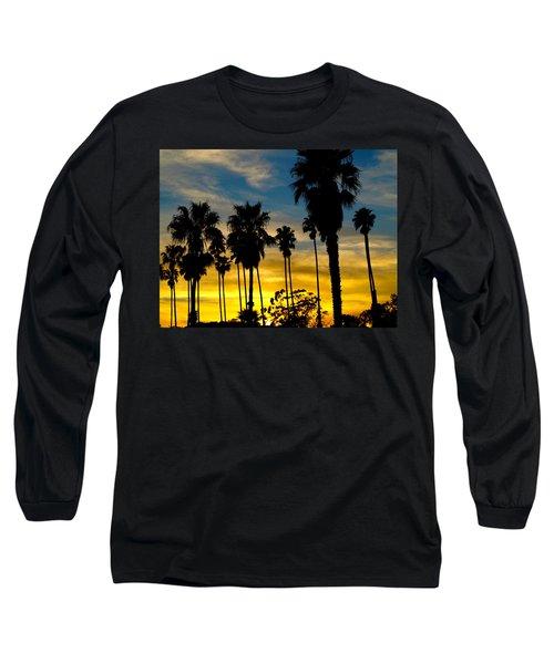 Santa Barbara Sunset Long Sleeve T-Shirt