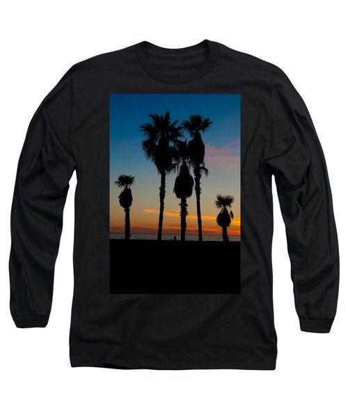 Santa Monica Sunset Long Sleeve T-Shirt
