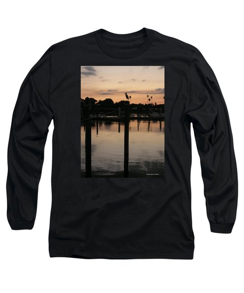 Long Sleeve T-Shirt featuring the photograph Sarasota Sunset by Emmy Marie Vickers