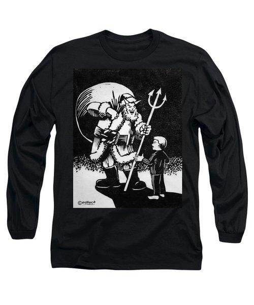 Satan Santa Long Sleeve T-Shirt