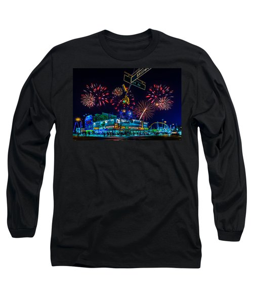 Saturday Night At Coney Island Long Sleeve T-Shirt
