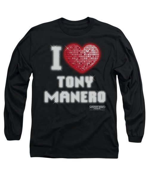 Saturday Night Fever - I Heart Tony Long Sleeve T-Shirt