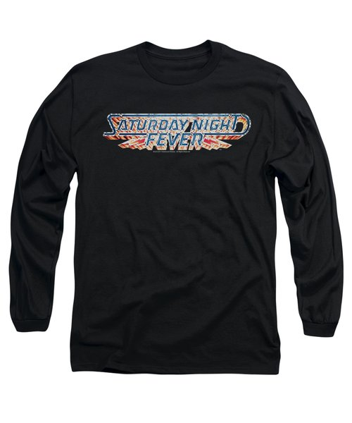 Saturday Night Fever - Logo Long Sleeve T-Shirt