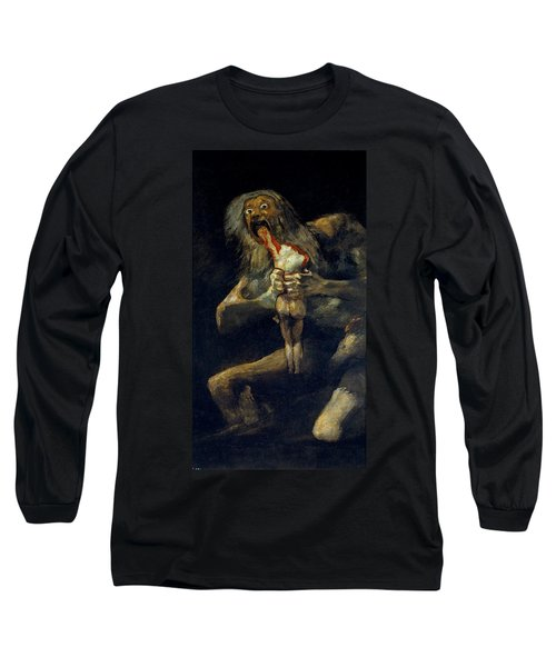 Saturn Devouring His Son Long Sleeve T-Shirt