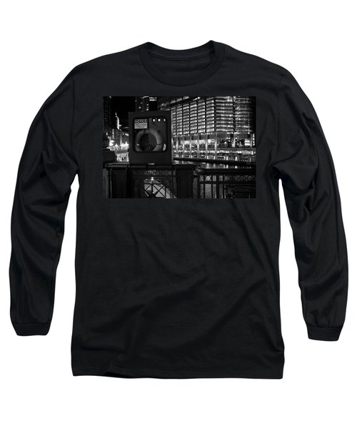 Save A Life On The River Long Sleeve T-Shirt by Melinda Ledsome