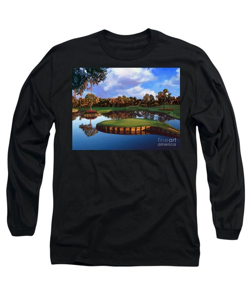 Sawgrass 17th Hole Long Sleeve T-Shirt by Tim Gilliland