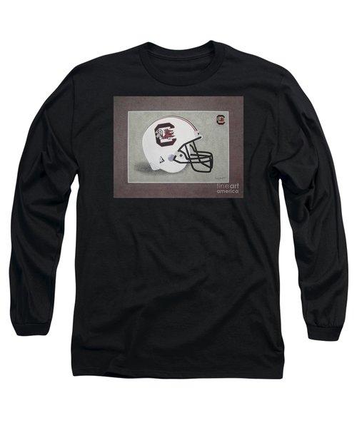 S.c. Gamecocks T-shirt Long Sleeve T-Shirt by Herb Strobino