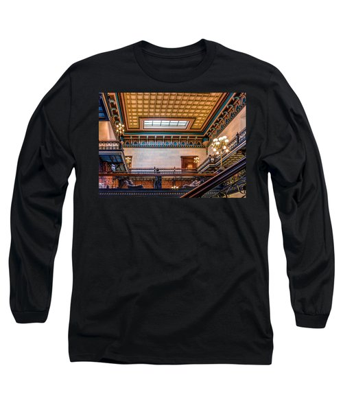 Long Sleeve T-Shirt featuring the photograph Sc State House by Rob Sellers