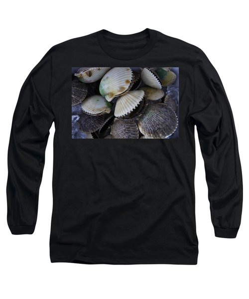 Scallops Long Sleeve T-Shirt by Laurie Perry