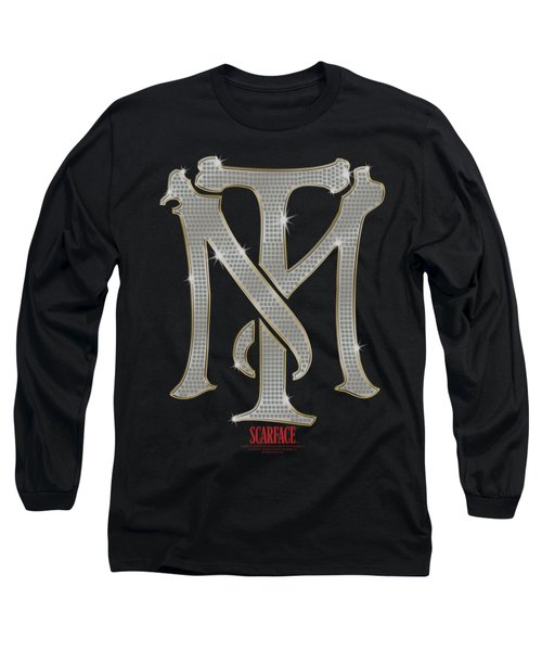 Scarface - Tm Bling Long Sleeve T-Shirt