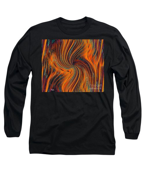 Long Sleeve T-Shirt featuring the painting Schiller's Dream Of You by Yul Olaivar