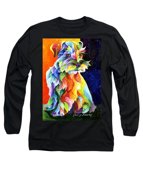 Schnauzer Too Long Sleeve T-Shirt