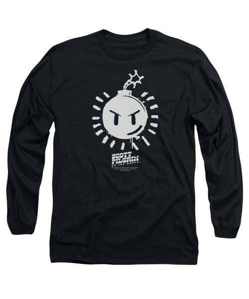 Scott Pilgrim - Sex Bob Omb Logo Long Sleeve T-Shirt