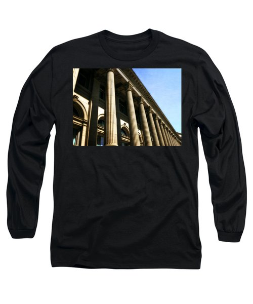 Scottish Rite Building Spokane Washington Long Sleeve T-Shirt