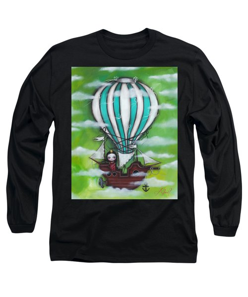 Sea Of Clouds Long Sleeve T-Shirt by Abril Andrade Griffith