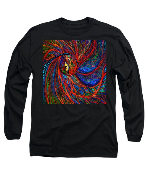 Sea Of Peacock Long Sleeve T-Shirt