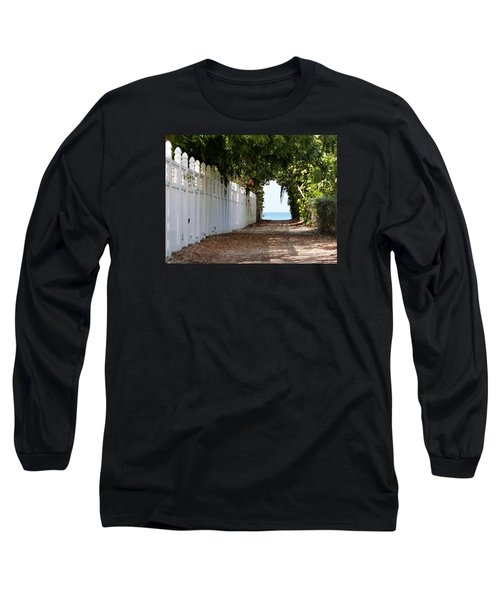 Passage To Sea Long Sleeve T-Shirt by Amar Sheow