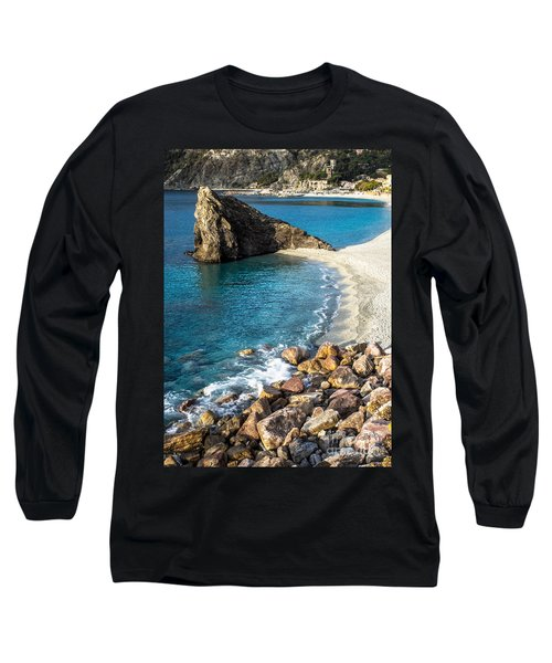 Sea Stack Of Monterosso Long Sleeve T-Shirt