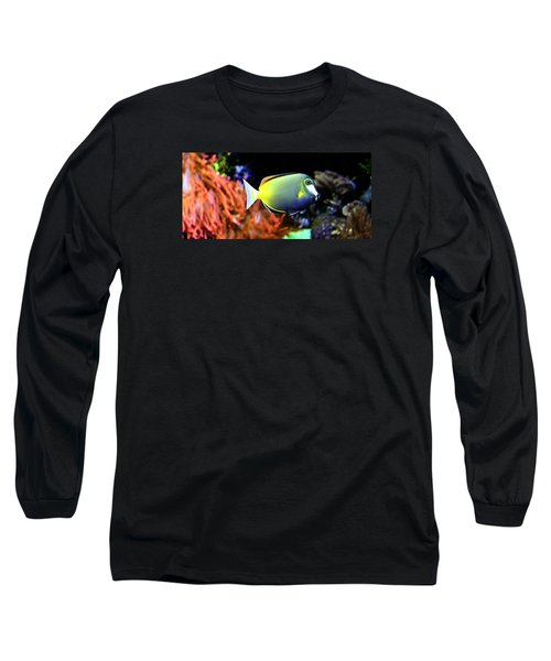 Long Sleeve T-Shirt featuring the photograph Sea World by Milena Ilieva
