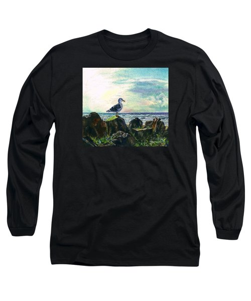 Seagull Lookout Long Sleeve T-Shirt