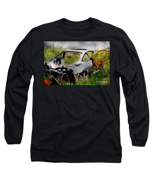 Search And Rescue Long Sleeve T-Shirt by Liane Wright