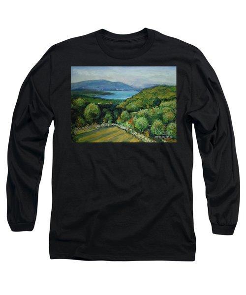 Seascape From Kavran Long Sleeve T-Shirt