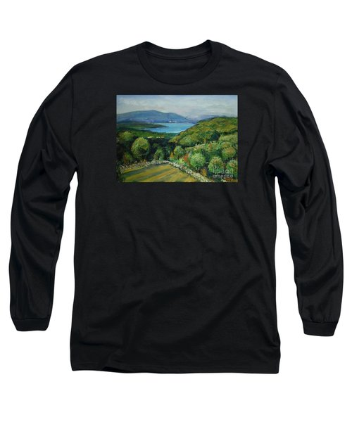 Seascape From Kavran Long Sleeve T-Shirt