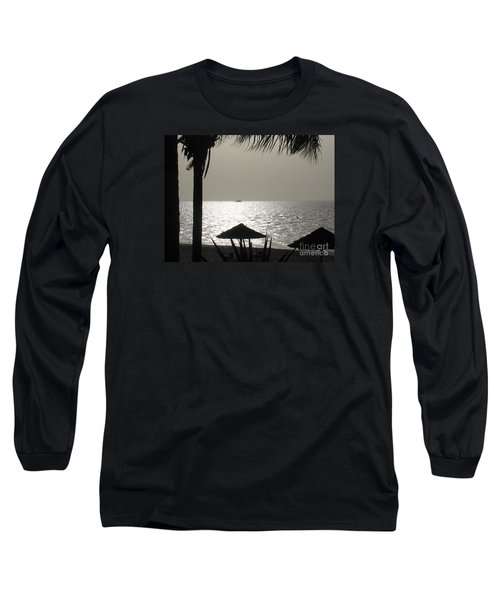 Long Sleeve T-Shirt featuring the photograph Seaside Dinner For Two by Patti Whitten