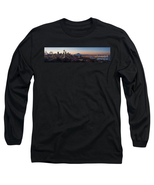 Seattle Morning Glow Long Sleeve T-Shirt