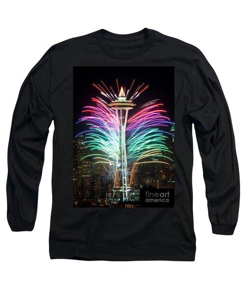 Seattle New Year Long Sleeve T-Shirt