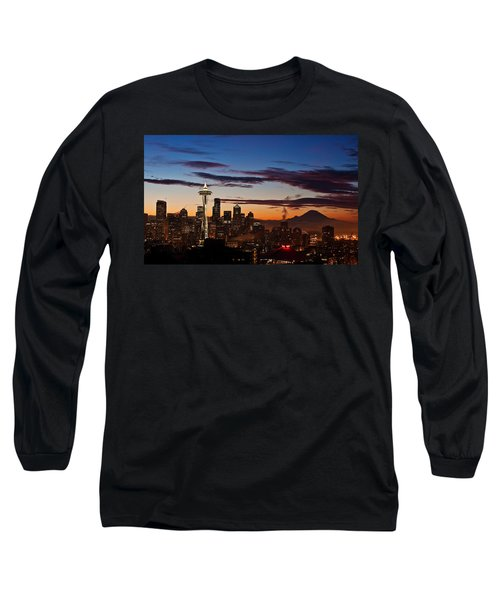 Seattle Sunrise Long Sleeve T-Shirt