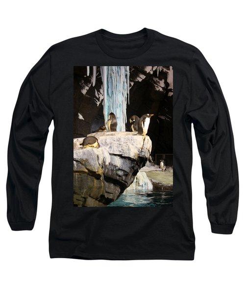 Seaworld Penguins Long Sleeve T-Shirt