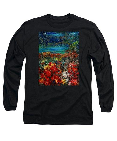 Secret Garden Long Sleeve T-Shirt by Teresa Wegrzyn